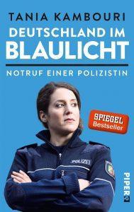 Deutschland im Blaulicht. -Buchcover-